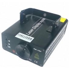 Laser Allison CA107a  DMX 150mw solo Stelline