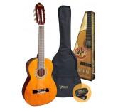 Chitarra  classica corde in naylon per studio  Valencia VC104k + accessori