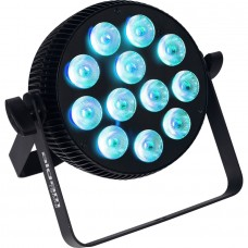 Faro par led DMX Algam Light Slimpar 1210 12X10watt rgbw