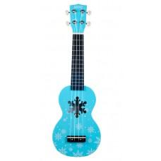 KIT chitarra Ukulele  soprano MAHALO  Frozen  Snow Ice Blue