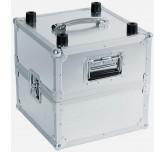 Flight case valigetta ROADINGER record Case Pro ALU 50/50 per 100 LP
