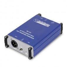 DI  BOX attiva 1 canale PA v3  DI BOX bilanciatore di segnale