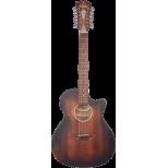 Chitarra acustica elettrificata 12 corde  D'Angelico  Premier Fulton LS  Mogano