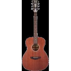 Chitarra acustica  amplificata D'Angelico Premier Tammany Ls  mogano natural