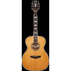 Chitarra acustica amplificata d'Angelico Premier Tammany Vintage natural