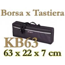Borsa imbottita 10mm Stefy line KB63 Tastiera 63 x 22 x 7 cm