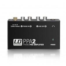 preamplificatore Phono - line LD System PPA2 convertitore phono-line