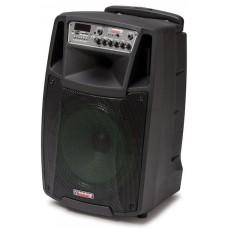 Cassa diffusore attivo a batteria con microfoni wireless M2 12 W/L Audiodesign