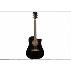 Chitarra Acustica amplificata EKO NXT D Cw eq black nera