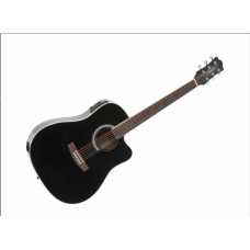 Chitarra Acustica amplificata EKO ranger eq black nera