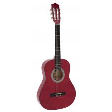 Chitarra classica 3/4   rosso corde nylon