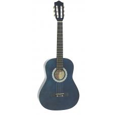 Chitarra classica 3/4  BLu corde nylon Dimavery