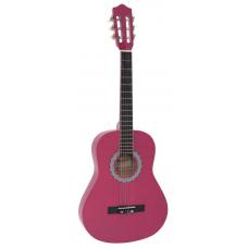 Chitarra classica 3/4  pink  rosa corde nylon