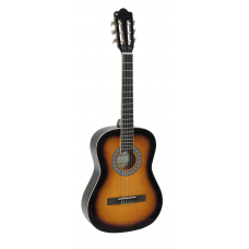 Chitarra classica 3/4 Sunburst corde nylon