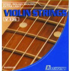 Kit muta corde per violinio Dimavery v136
