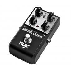 Pedale effetto Nux Metal Core distorsione metal