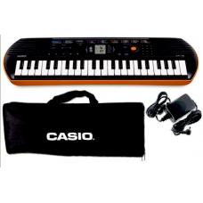 Tastiera portatile Mini 44 tasti CASIO SA77 + Borsa  +  Alimentatore