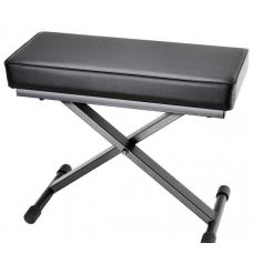 Panca  per pianoforte tastiera con imbottitura ultraspessa SKT 17 Adam Hall