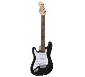 Chitarra elettrica  MANCINA   Nero  Soundsation Rider STD   - SLH BK