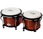 Bonghi bongo tamburo percussioni a mano in legno XDrum Bongo Tabacco