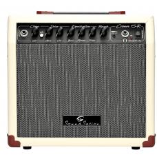 Amplificatore combo Vintage 15 Watt per chitarra elettrica Soundsation Cream-15R