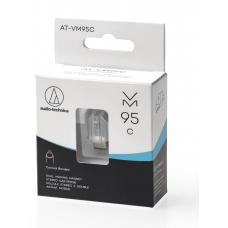 Audio-technica testina + puntina conica AT-VM95C