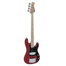Basso elettrico Dimavery PB-550  WINE RED
