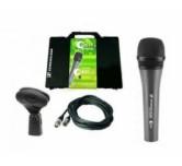 Microfono per voce sennheiser E-835  Kit  valigetta + cavo