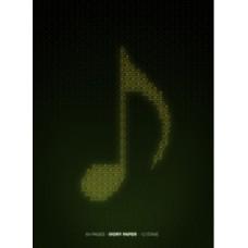 Quaderno di Musica Pentagrammato 12 Righi 64 pagine