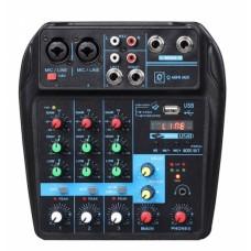 Mixer OQAN Q mini USB lettore MP3 Blutooth