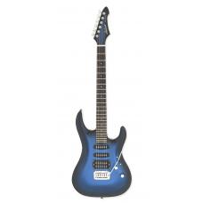 Chitarra elettrica ARIA MAC-STD MBS Blue Metallic