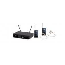 Radiomicrofono  Doppio archetto wireless UHF Audiodesing Pro  PMU22