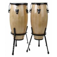 Coppia Congas in betulla da 10 e 11 pollici percussioni