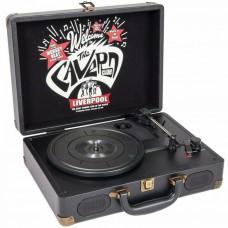 Piatto Giradischi valigetta portatile Cavern club retro