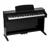 Pianoforte digitale  ORLA CDP101 nero lucido 88 tasti pesati  + stand,  e tre pedali