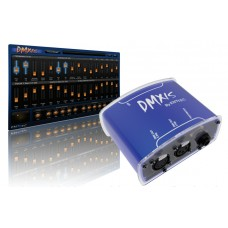 Software DMXIS Enntec 512 canali usb + interfaccia luci