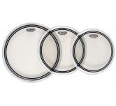 "Pelli per batteria Evans EC2S standard  3 pack  clear (12"" 13"" 16"")"