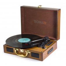 Piatto giradischi Convertitore Vinile LP Bluetooth MP3 TECHNAXX