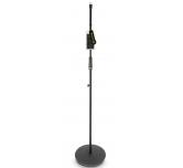 Asta  stand per microfono dritta con base tonda Gravity MS23