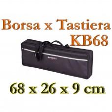 Borsa imbottita 10mm Stefy line KB68 Tastiera 68 x 26 x 9 cm