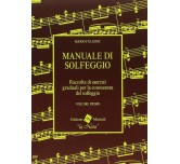 Manuale di solfeggio 1 volume Mario Fulgoni Edizioni musicali  La Nota