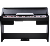 Pianoforte 88 tasti pesato  CDP 5000  Medeli blak + stand, pedali