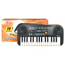Tastiera  mini 32 tasti Miles MLS 6682 incluso  alimentatore  ideale per la scuola