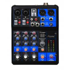 Mixer Mix-S 201 Atomic - 2 canali mono - 1 canal estereo - fx