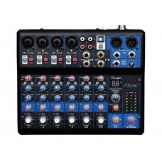 Mixer Mix-S 402 Atomic - 4 canali mono - 2 canali stereo - fx