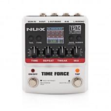 Multi effetto pedale digitale per chitarra elettrica Nux Time Force delay looper