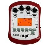 Multi effetto pedale digitale per chitarra elettrica Nux PG2