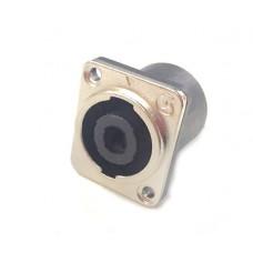Connettore Speakon da pannello in metallo (no neutrik)