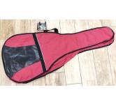 Custodia borsa chitarra Acustica 4/4  in poliestere  Rossa Stefy Line BX602