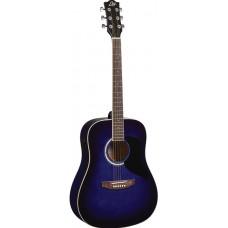 Chitarra acustica  EKO Ranger 6 Blue Sunburst